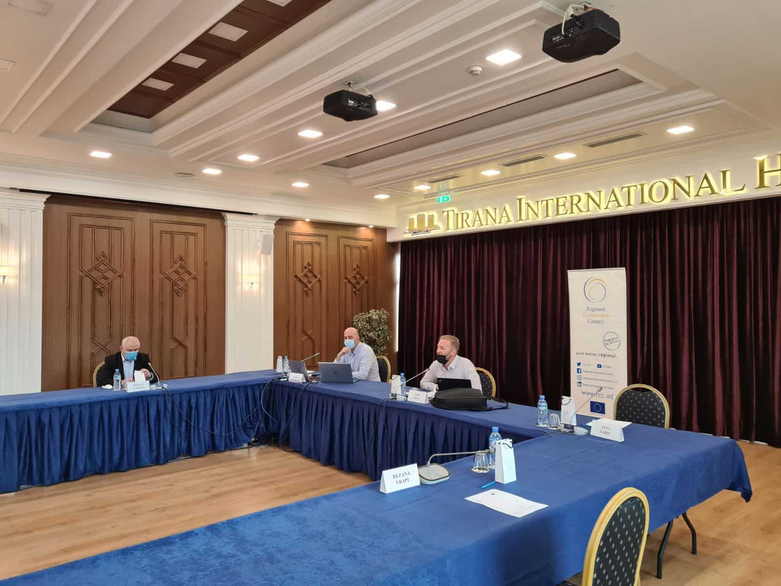 Tirana RCC Finalizing RDD 1-2 October 2020